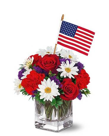 Freedom Bouquet by Teleflora Flower Arrangement