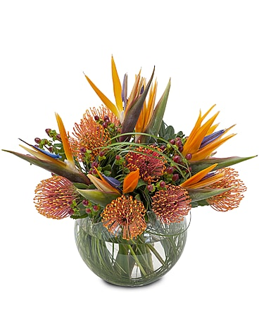 Fireworks Flower Arrangement