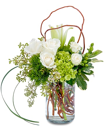 Styled Flower Arrangement