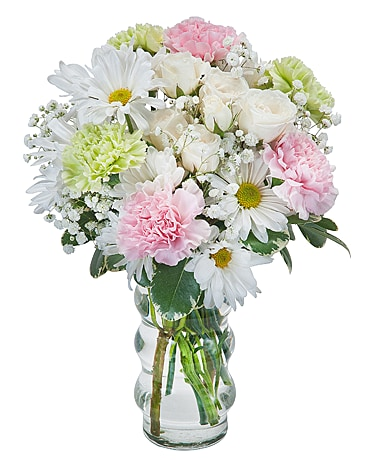 Soft and Sweet Flower Arrangement