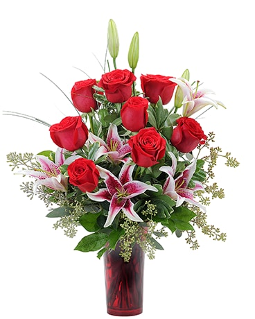 Romantic Gaze Flower Arrangement