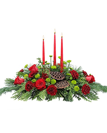Carolina Carols Flower Arrangement