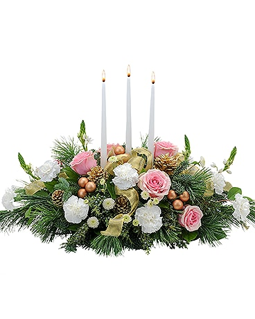 Glowing Elegance Flower Arrangement