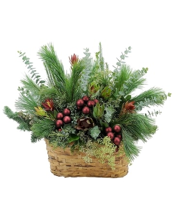 Organic Beauty Basket Arrangement