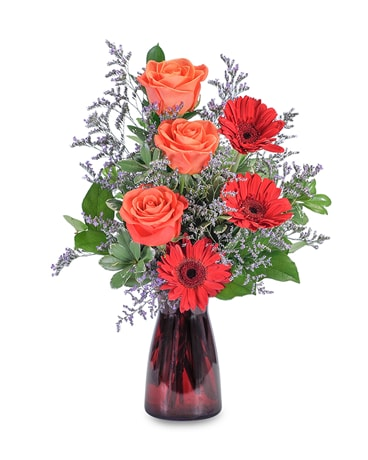 Scarlet Crush Flower Arrangement