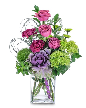 Magenta Sky Flower Arrangement