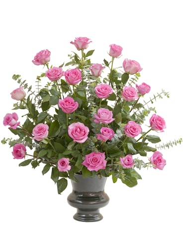Pink Rose Supreme Flower Arrangement