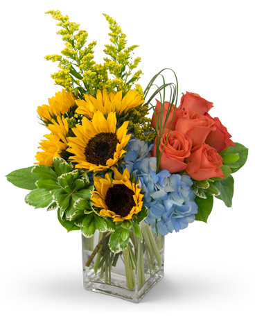 Fun in the Sun Flower Arrangement