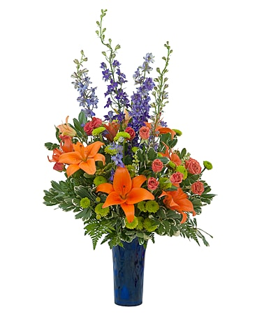Chase Away the Blues Flower Arrangement