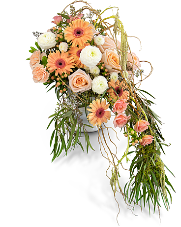 Divine Grace Waterfall Flower Arrangement