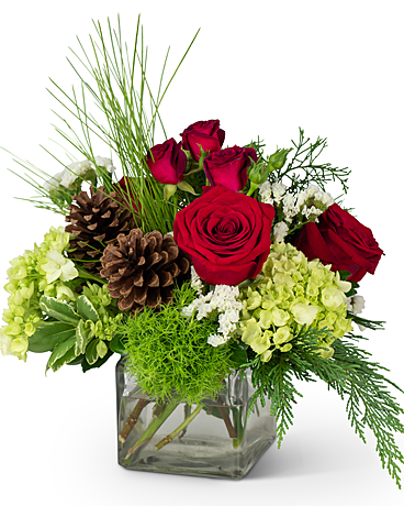 Wintertime Wishes Flower Arrangement