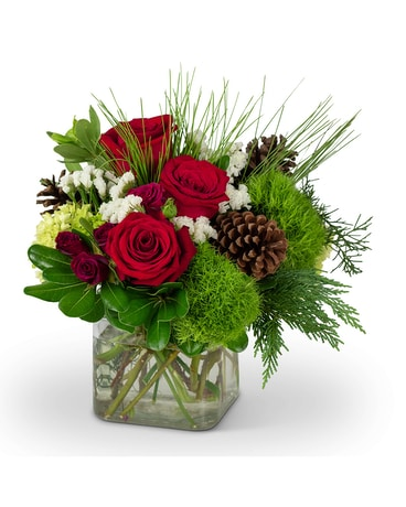 Wintertime Beauty Flower Arrangement