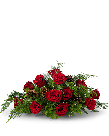 Royal Rose Centerpiece Flower Arrangement
