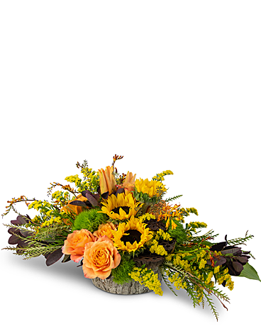 Woodland Vibrance Flower Arrangement