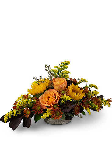 Woodland Sunset Flower Arrangement