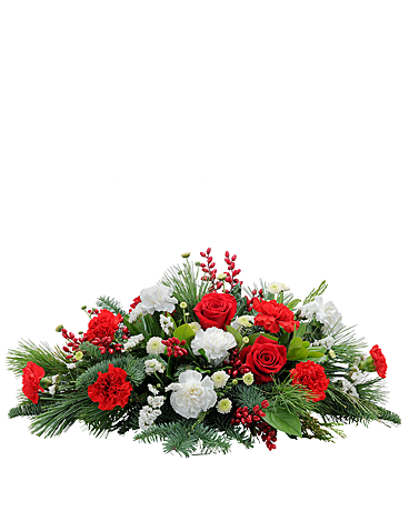 Candy Cane Flower Arrangement