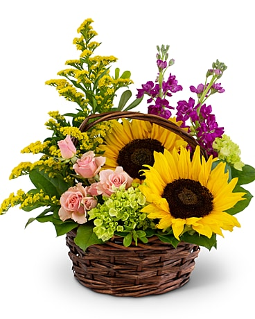 Wild Woodlands Flower Arrangement