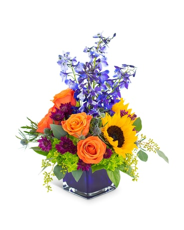 Season of Heart Flower Arrangement