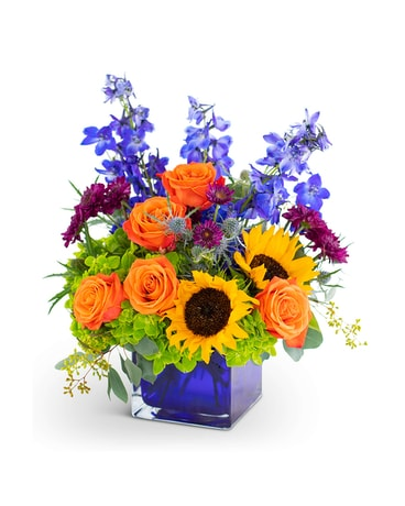 Season of Vibrance Flower Arrangement