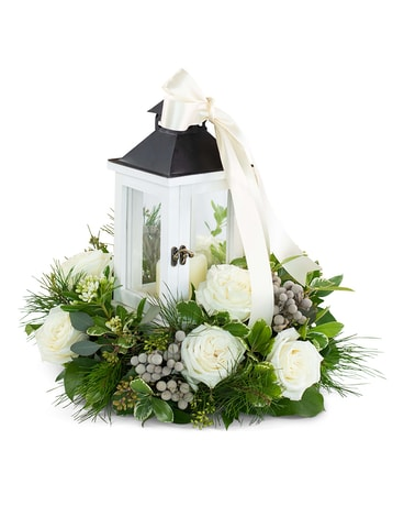 Illuminated with Grace Flower Arrangement