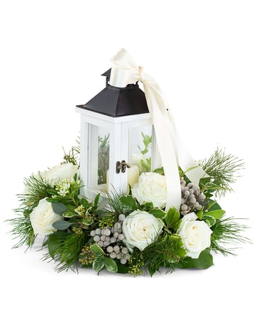 Illuminated with Wonder Flower Arrangement