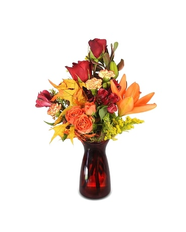 Fall Blessings Flower Arrangement