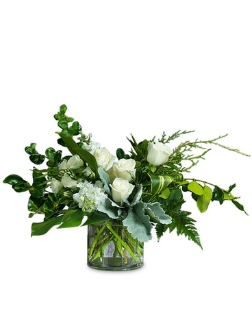 White Rain Beauty Flower Arrangement