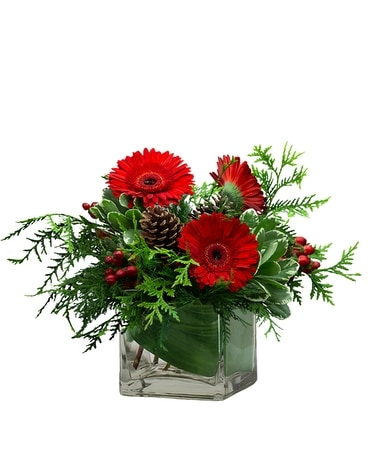 Berry and Bright Flower Arrangement