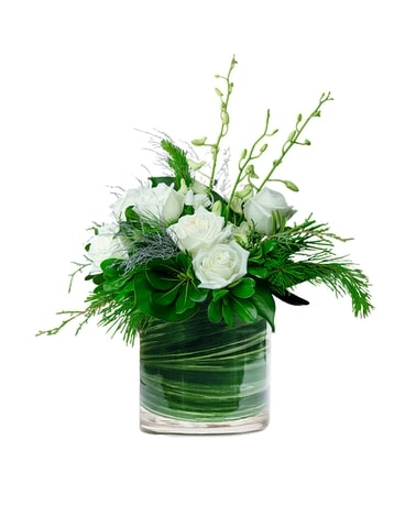 Winter Wishes for You Flower Arrangement