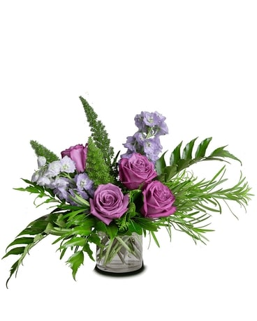 Fresh Blueberry Bliss Flower Arrangement