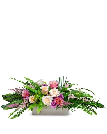 Joyous Gathering Centerpiece Flower Arrangement
