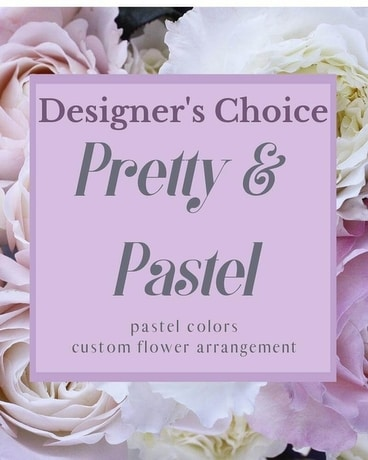 Designer's Choice - Pretty & Pastel Flower Arrangement