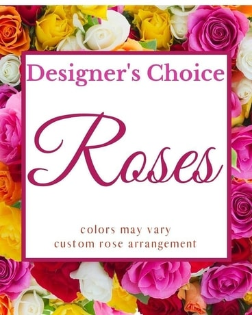 Designer's Choice  - Roses Flower Arrangement