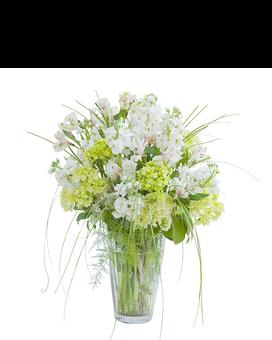St patricks day flowers delivery glen rock nj perrys florist white elegance vase mightylinksfo