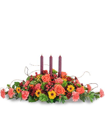 Bountiful Fall Flower Arrangement