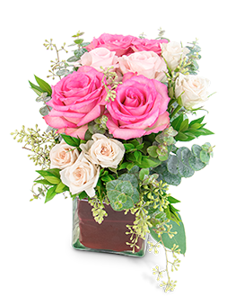 Enchanted Heart Flower Arrangement