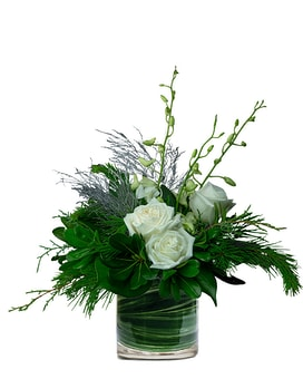 Winter Wishes Flower Arrangement