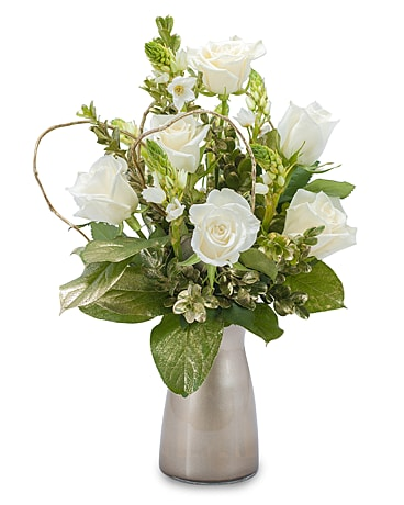 Champagne Sparkle Flower Arrangement