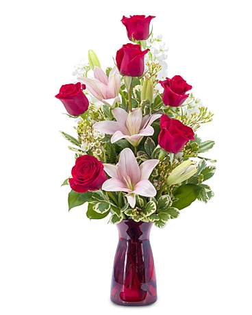 Tender Caress Flower Arrangement