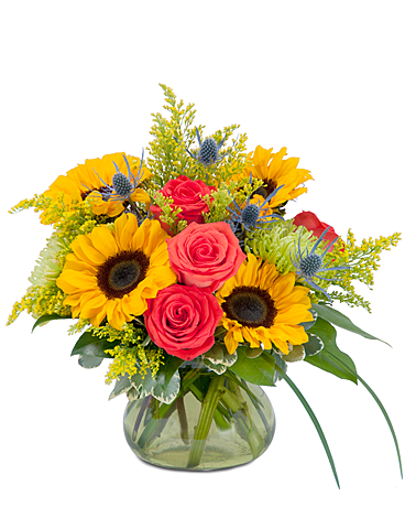 Sunlit Splendor Flower Arrangement
