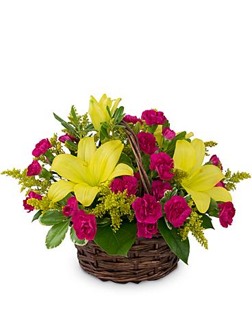 Sweet As Summer Flower Arrangement