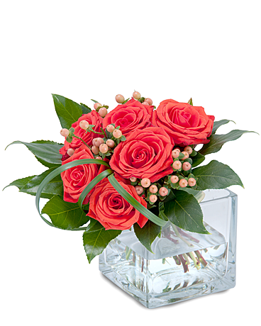 Modern Six Flower Arrangement