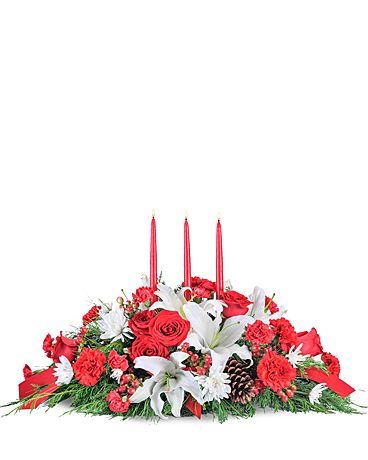 Gathering Table Flower Arrangement
