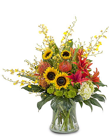 Harvest Wisp Flower Arrangement