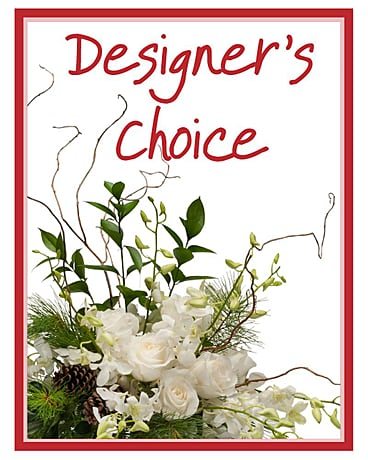 Designer's Choice - Winter Flower Arrangement
