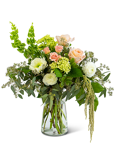 Graceful Nature Vase Flower Arrangement