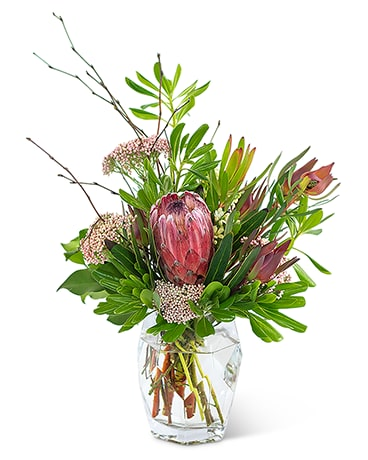 Posh Protea Flower Arrangement