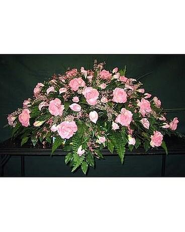Silk casket sprays in erin tn bells florist more silk casket sprays mightylinksfo
