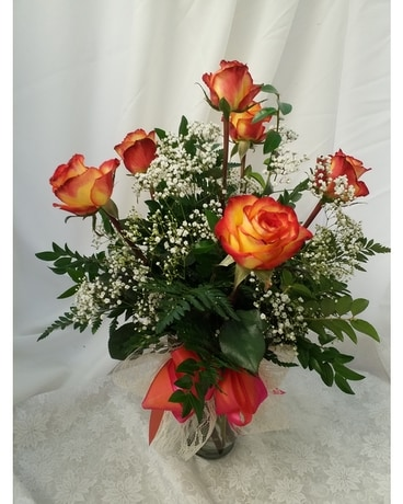 Woodland's best selling Roses Flower Arrangement