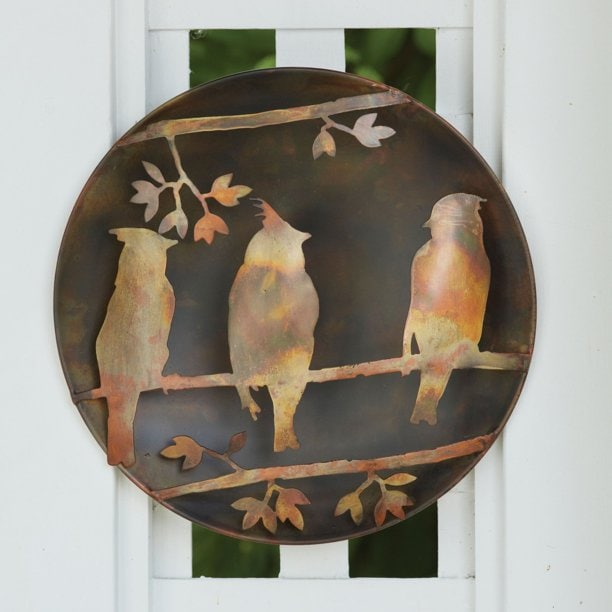 13 inch Decorative Bird Plate